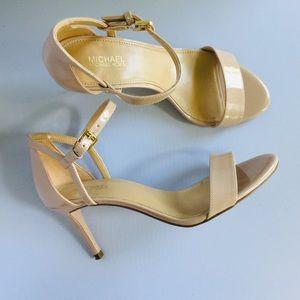 MICHAEL KORS Simone Ankle Strap High-Heel Sandals
